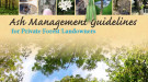 Ash Management Guidelines cover
