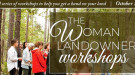 Woman Landowner Workshops