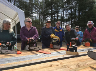Piscatiquis County SWCD chainsaw training