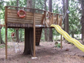 Kid's tree house